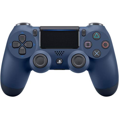 Price comparison product image Midnight Blue PS4 PRO Rapid Fire Custom Modded Controller 40 Mods for All Major Shooter Games,  Fortnite