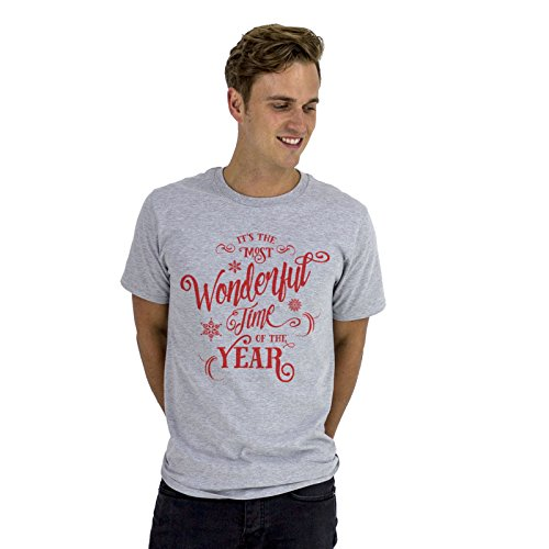 Big Red Egg Herren T-Shirt, Einfarbig Grau Grau
