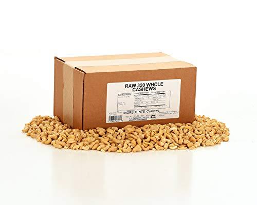 Cashews - 10 Lbs. Raw 320 ct. Whole Cashews by C. J. Dannemiller Co. (Image #3)