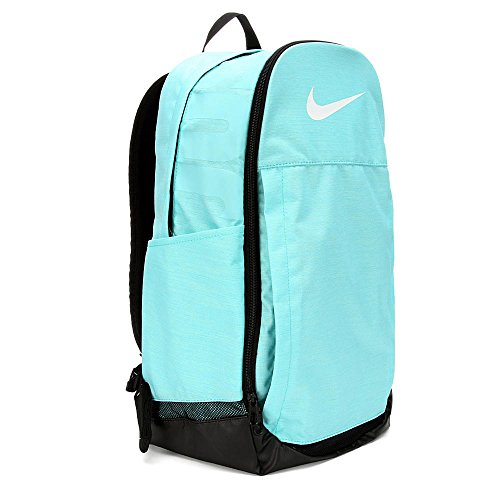 Nike Brasilia Training Backpack X-Large (Light Aqua/Black/White) by NIKE