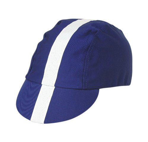 Pace Classic Cycling Cap  Royal Blue With White