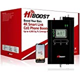 HiBoost Cell Phone Signal Booster for Home, Up to 4,000 sq ft, Support All US Carriers-Verizon, AT&T, T-Mobile, Sprint…