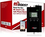HiBoost Cell Phone Signal Booster for Home, Up to 4,000 sq