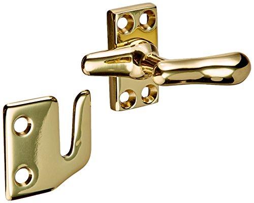 Baldwin 0492030 Casement Fastener, Bright Brass Brass Casement Fastener