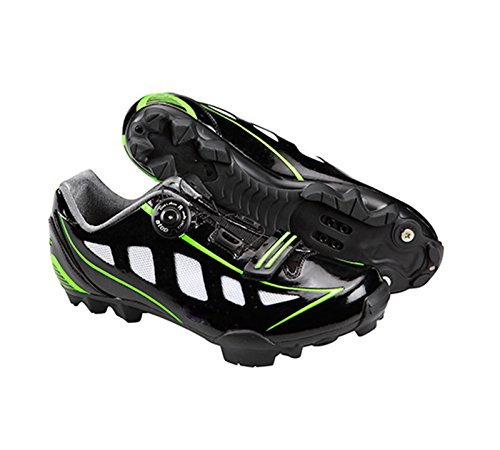 Zapatillas Profesionales ALTA GAMA de Ciclismo para Pedales SPD de Bicicleta MTB Mountain Bike Talla 42 3714