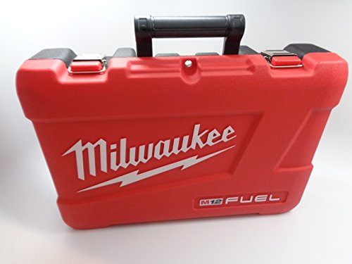 Milwaukee Tool Case Only - Fit for 2597-22 M12 12 Volt Tools - Hammer Drill 2404-20, Impact Driver 2453-20, Charger, Batteries, Manuals by Milwuakee M12