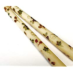Decorative Hand Painted Autumn Leaves Dripless Ivo