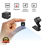 Mini Spy Camera, [NEWEST 2018 UPGRADED] Hidden 1080P Portable HD Nanny Cam with Night Vision and Motion Detection