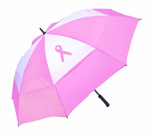 Bag Boy Pink Ribbon Umbrella