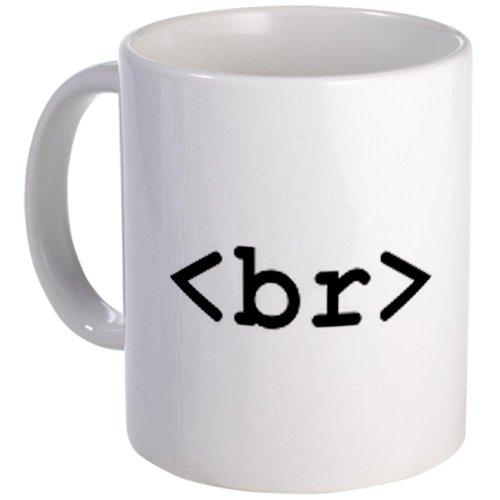 CafePress - HTML Coffee break - mug - Unique Coffee Mug, 11oz Coffee Cup