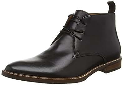 Alevia, Botines para Hombre, Negro (Black Leather/97), 43.5 EU Aldo