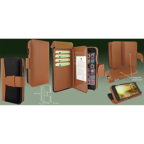 eXpansys Nokia 6600 Chairmans Case (Black + Tan)