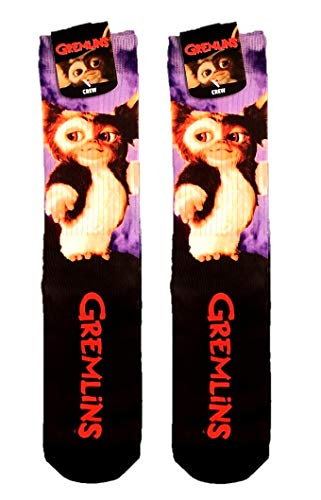 Warner Bros. The Gremlins Gizmo Sublimated Crew Socks Sock -