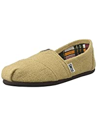 Toms Womens Classic Canvas Slip On Casual Shoe, Natural, US 7.5