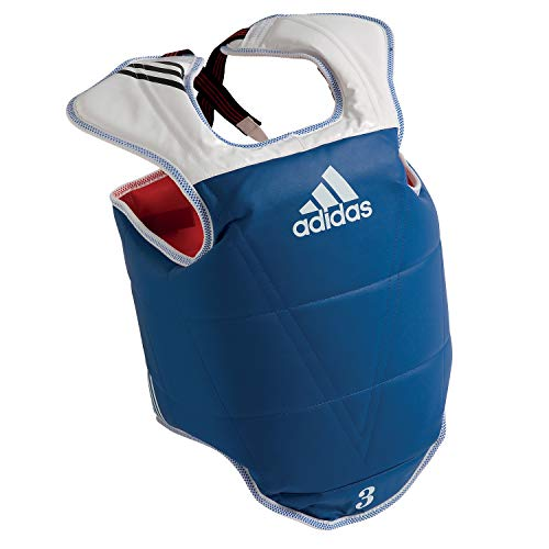 Adidas WTF TaeKwonDo Solid Reversible Chest Protector - Medium