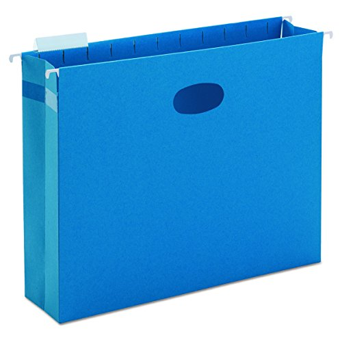 Smead Letter File Cabinet - Smead Hanging File Pocket, 1/5-Cut Adjustable Tab, 3
