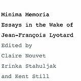 Minima Memoria, , 0804751129