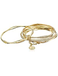 Jessica Simpson Organic Pave Bangle Bracelet