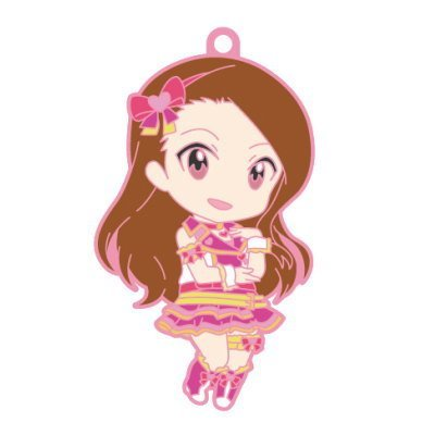 Nendoroid Plus rubber strap The Idolmaster One For All 765PRO ALLSTARS stage B [2. Minase Iori] (single)