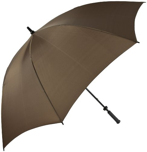 Haas-Jordan by Westcott Pro-Line Golf Umbrella Brown 62-Inch