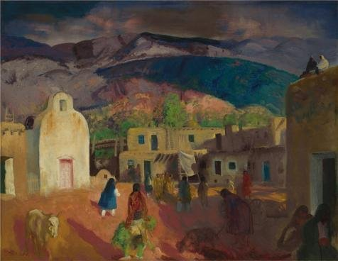 'George Wesley Bellows,Pueblo Tesuque,No - Bullet Style Patio Heater Shopping Results
