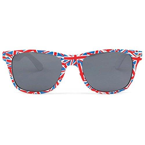 Homme soleil Wear Eye de Rouge Lunette drapeau UK Angleterre qOvwBxvC