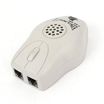 RJ11 hembra de 3 puertos zócalo de gato de timbre del teléfono Anillo del amplificador de