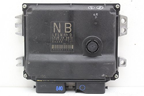 13 14 Mazda Miata LFLN 18 881D Computer Brain Engine Control ECU ECM EBX (Mazda Miata Engine Computer)