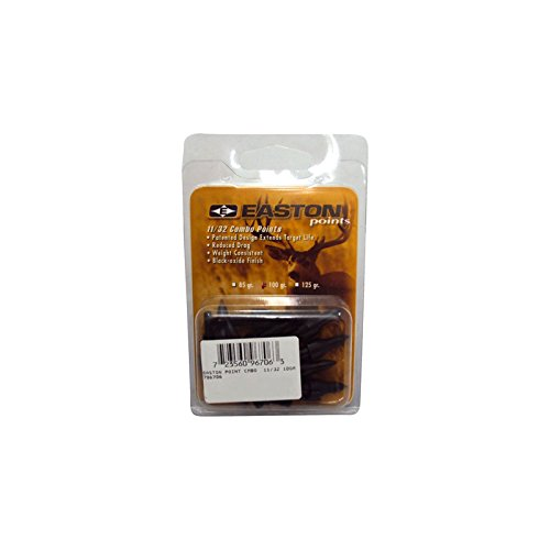 Easton Multi Points 100 grain Doz Clam Pack 11/32 796706|TF - Easton Combo Target