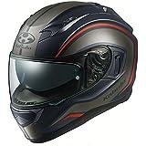 オージーケーカブト(OGK KABUTO)バイクヘルメット フルフェイス KAMUI3 NACK(ナック) フラットブラックグレー (サイズ:XL) 584948