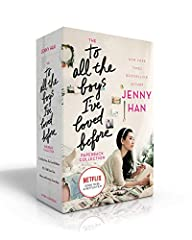 To All the Boys I've Loved Before is now a major motion picture streaming on Netflix!New York Times bestselling author Jenny Han's beloved novels are now available together in this delightful paperback boxed set!What if all the crushes you ev...