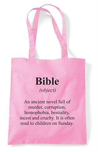 Tote Alternative Definition Dictionary Shopper Light In Not Bag Bible The Funny Pink a0cwqRpA