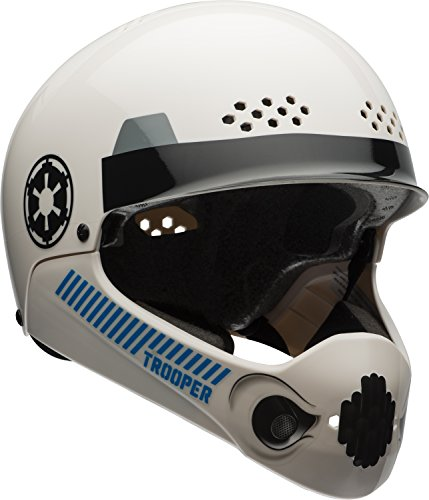Bell Star Wars Storm Trooper Multisport Chinbar Helmet