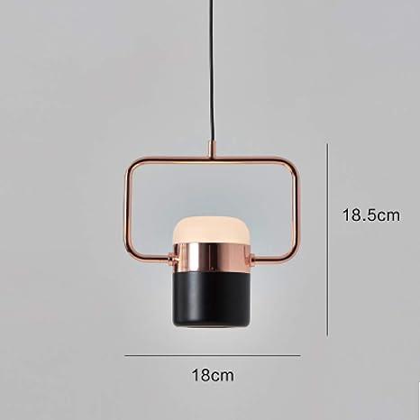 Luces colgantes LED Techo Ropa Decoración Hierro Lamplamp lámpara ...