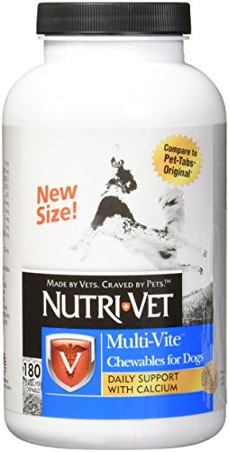 - Nutri-Vet Multi-Vite Chewables for Dogs