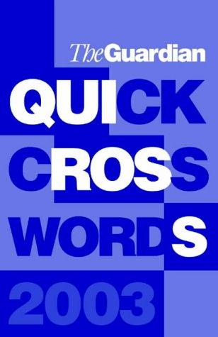 guardian quick crossword today