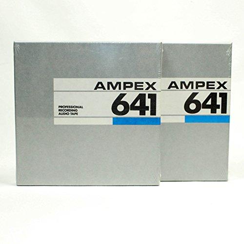 Ampex 641 5 inch reel to reel tape - 1/4 x 900 - Pack of 2