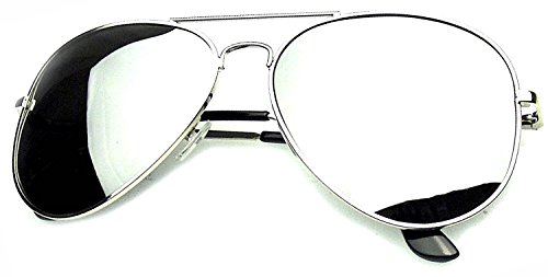 1c4f88161a5 Younky Aviator Unisex Sunglasses (Silver)  Amazon.in  Clothing   Accessories