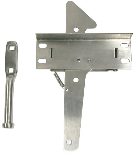 Stainless Steel Gate Hardware - Ultra Hardware 35929 Post Latch Heavy Duty SS, Stainless Steel