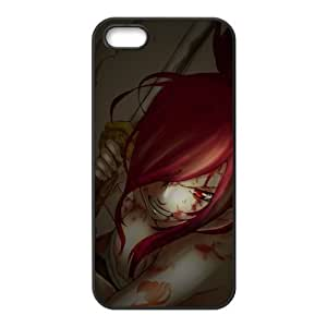 Fairy Tail Erza Scarlet Bloody Cool Unique Apple Iphone 6 plus 5.5 Durable Hard Plastic Case Cover CustomDIY