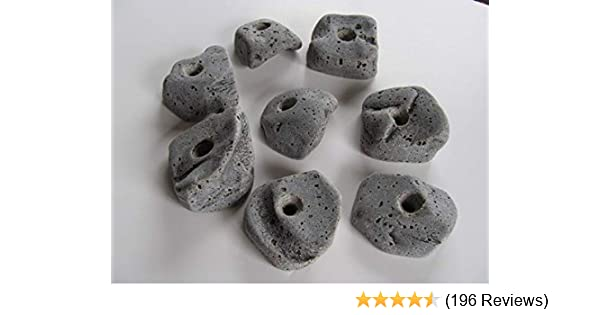 BOLT ONS WITHOUT Hardware 50 LARGE KIDS ROCK CLIMBING WALL HOLDS