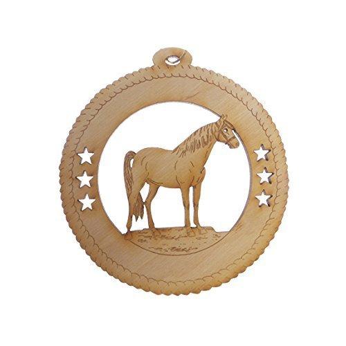 Amazoncom Custom Horse Ornament  Horse Christmas Ornament