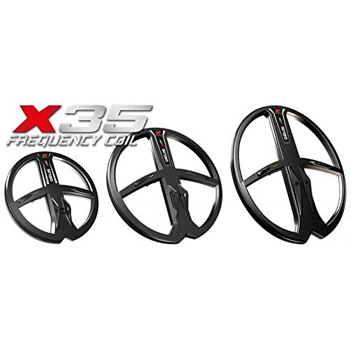 XP Deus X35 13 x 11 Round 35 Frequency Waterproof DD Metal Detector Search Coil