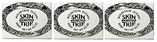 Mountain Ocean Skin Trip Coconut Soap Bar (Pack of 3) with Coconut Oil, and Aloe Vera, 4.5 oz. each For Sale