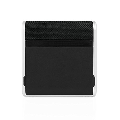 BRAVEN Bridge Bluetooth Speaker and Conferencing Device [12 Hours Playtime] 2600 mAh Power Bank - Gray / Black / Silver by Braven (Image #2)