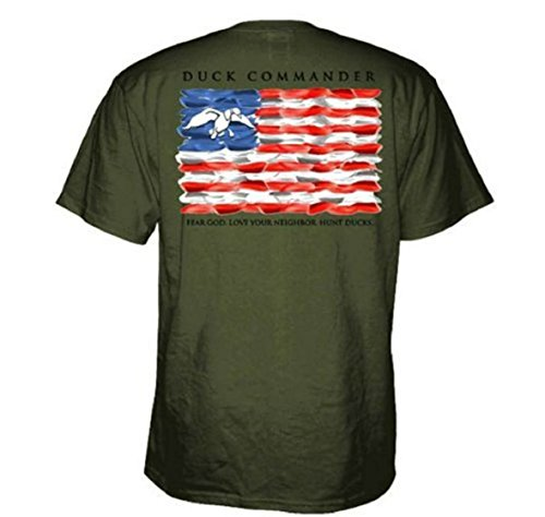 Duck Commander Flag Short Sleeve T-Shirt