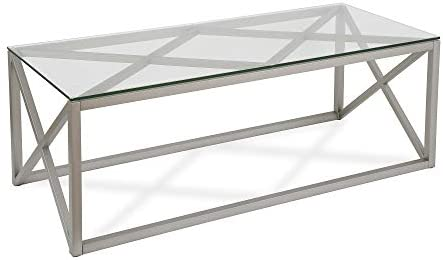 Henn Hart Coffee Table One Size Nickel
