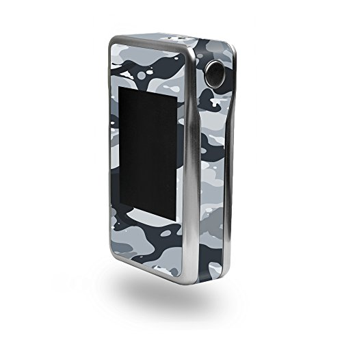 MightySkins Skin for Sigelei T200 – Gray Camouflage | Protective,...