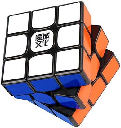 YOUNICER Descompresión de Rubik para niños y Adultos Juego de Rompecabezas Cubo en Forma de 3 órdenes Rompecabezas Liso Rubik: Amazon.es: Juguetes y juegos