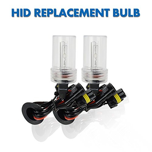 Innovited HID Xenon Replacement Bulbs Lamp H11 H9 H8 4300K